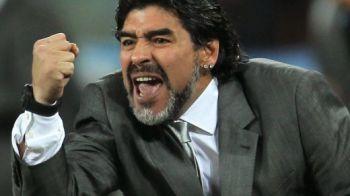 """Cel mai tare dribling al lui Maradona! Il fura pe Drogba din China si il duce la Al Wasl! """"El Pibe d'Oro"""" il crede cel mai tare din lume!"""