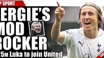Transfer NEBUN inainte de Euro! Man United l-a luat pe Luka Modric de la Tottenham! Cifrele afacerii de 70 de milioane de euro:
