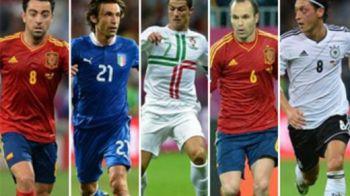 Cine castiga Euro ia si Balonul de Aur! Messi si Drogba au sanse minime, ei CINCI se bat pentru trofeu! Care e cel mai bun?
