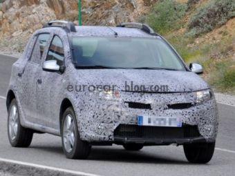 FOTO SPION! Un nou model Dacia, gata de relansare! Cum arata noul Stepway pe sosea!