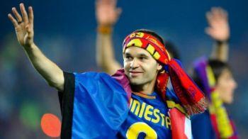 """Iniesta refuza Balonul de Aur! """"Numai el il merita, pentru TOT ce a facut!"""" Declaratia care face fotbalul mai frumos!"""
