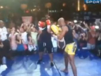 SUPER VIDEO. Ronaldo se bate cu IDOLUL MMA Anderson Silva! Imaginea care a speriat MILIOANE de fani