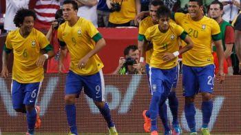 Neymar l-a eclipsat total pe Giggs! Pasa geniala la primul gol! Hulk l-a ridiculizat pe Richards la reusita lui Neymar! Marea Britanie 0-2 Brazilia! VIDEO