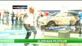 Olimpiada pilotilor de raliu are cele mai dificile probe: Cursa NEBUNA cu oul in lingurita!
