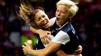 GestulINCALIFICABIL facut de o fotbalista! Si-a calcat adversara pe cappentru medalia de aur! Intra sa vezi nebunia fetelor de la Londra
