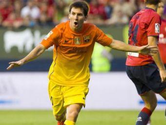 Pur si simplu FABULOS! Messi a mai spart un RECORD! Spania se inchina la el! Ce RECORD a mai doborat!
