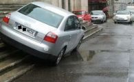 FOTO Cel mai mare COCALAR din Romania! N-o sa ghicesti niciodata unde si-a parcat masina! Nesimtirea intrece ORICE limita!