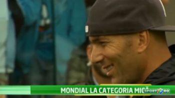 VIDEO GENIAL! Zidane i-a cucerit pe campionii de la Cupa Hagi Danone! Dansul pe care l-a facut pe un stadion de 500mil €: