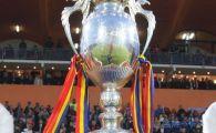 Tragerea la sorti pentru Cupa: Steaua - FCM Targu Mures; Olimpia Satu Mare - Rapid; Vaslui - Botosani; Berceni - CFR; Sibiu - Dinamo