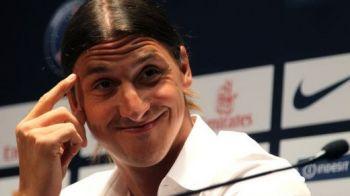 "FABULOS! ""Eu ca sa joc bine, trebuie sa fiu NEBUN, sa simt ura!"" Ibrahimovic isi ingrozeste adversarii! Vezi ce problema a avut cu Messi:"