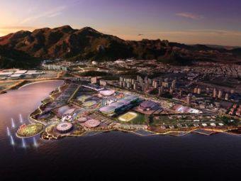 FOTO Jocurile Olimpice din Brazilia vor avea loc intr-o LAGUNA! Primele imagini cu Parcul din Rio! Destinatie de senzatie pentru olimpici: