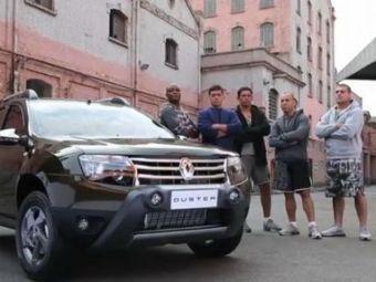 VIDEO Dacia nu a fost niciodata atat de DURA! Cei mai tari luptatori din MMA promoveaza Duster! Sute de milioane de oameni vor innebuni cand vor vedea ASTA: