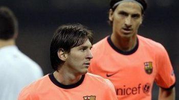 """Ibrahimovic, inca un ATAC NEMILOS la Messi: """"Nu merita balonul de aur!"""" Mourinho ii declara dragoste eterna dupa declaratia asta :)"""