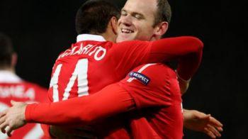 O vedeta de la Man United a plecat PLANGAND de la Cluj! A fost anuntat de Ferguson ca e LIBER sa plece! Singurul jucator care nu s-a putut bucura de victorie in Romania