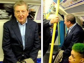 GAFA INCREDIBILA! Selectionerul Angliei s-a facut de ras la metrou! Anuntul care i-a socat pe englezi!