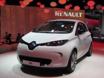 VIDEO Renault a lansat un model electric SF la Paris! Vezi aici cum arata:
