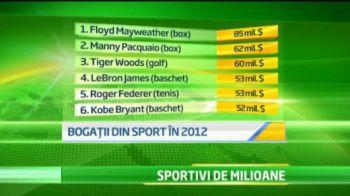 Ronaldo si Messi nu se apropie de ei! Un boxer care a facut PUSCARIE e cel mai bine platit sportiv din 2012! Cat castiga: