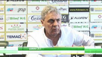 """VIDEO Neculaie n-a avut curaj sa-l prezinte pe Cartu la Brasov: """"Steaua ia titlul, e clar!"""""""