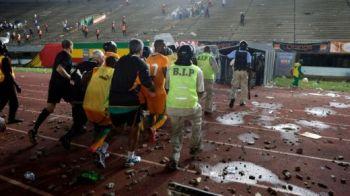 Incidente GRAVE in Africa! Meciul Senegal - Coasta de Fildes a fost suspendat din cauza violentelor, fanii au vrut sa dea foc la stadion! Drogba, aproape sa fie linsat de fani! VIDEO