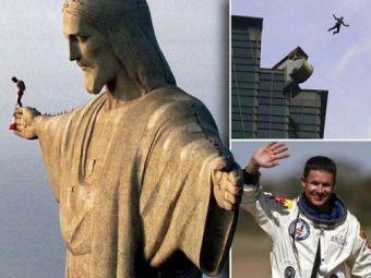 """SUPER VIDEO """"Sunt nascut ca sa ZBOR!"""" Cele mai tari SALTURI ale lui Felix Baumgartner! Ai avea curaj sa faci asa ceva?"""