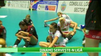 Nu e banc! Dinamo chiar joaca in Liga Campionilor! Fetele de la volei sunt pentru al treilea an in Liga! VIDEO