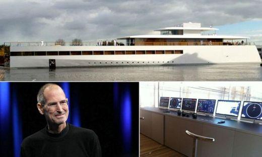 VIDEO Ultima CAPODOPERA a lui Steve Jobs este GATA! Yachtul pentru care Abramovic ar PLATI oricat! Nebunia conceputa de fondatorul Apple: