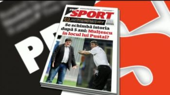 Citeste luni in ProSport: Cel mai longeviv antrenor din Liga I, gata de PLECARE dupa 5 ani!