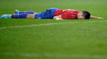 """Stelistii sunt DISTRUSI dupa meciul cu Stuttgart! Rusescu: """"E un moment urat!"""" Ce le-a zis Reghecampf la vestiare:"""