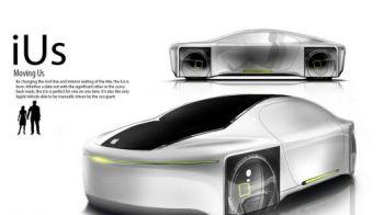 FOTO ALARMA in industria AUTO! Apple pregateste masina viitorului! Se conduce singura si nu polueaza! Vezi primele imagini: