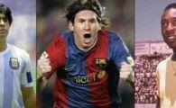 Maradona si Pele ii arata Cupa Mondiala! Messi le arata un ADEVAR greu de imaginat: 44 de echipe au inscris mai putin decat el!