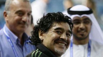 Maradona, selectioner din nou! A preluat o nationala din Asia! Pe cine promite sa duca la Cupa Mondiala dupa 24 de ani!