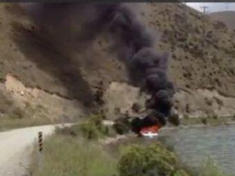 VIDEO Asa ceva n-ai mai vazut pana acum! Cum se stinge incendiul de pe un yacht in timp record! :)