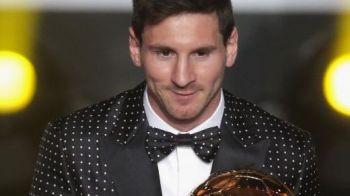 FOTO Mesajul ASCUNS din costumul lui Messi! Cine e omul care l-a inspirat sa se imbrace ca un BOSS la gala in care a scris istorie!