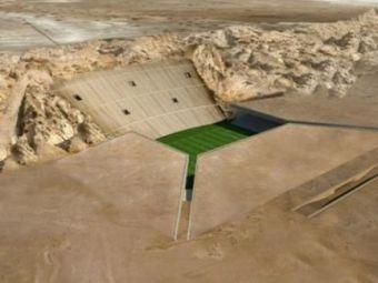 SUPER FOTO! Olaroiu si Radoi vor juca pe cel mai tare stadion din lume! Proiectul IMPRESIONANT inceput de arabi: