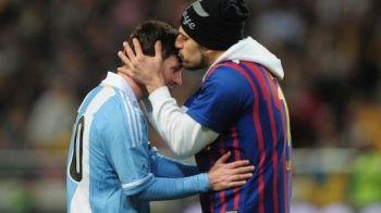 Gest emotionant al unui suporter care a scapat in teren! S-a dus direct la Messi, s-a apropiat, iar cand a ajuns langa el tribunele au explodat! VIDEO fabulos:
