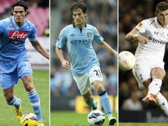 Spaniolii se pregatesc de Galaxia Real Madrid versiunea 3! David Silva, Cavani si Bale vin sa o distruga pe Barca! Planul lui Perez nu-l include si pe Mourinho!