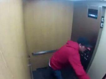 VIDEO Liftul GROAZEI revine! Cum ai reactiona intr-o asemenea situatie? Finalul neasteptat al clipului care a socat planeta