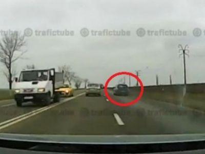 Accident BARBAR in drum spre Constanta: Teribilismul la volan face victime! Ce a patit acest sofer in urmatoarea secunda: