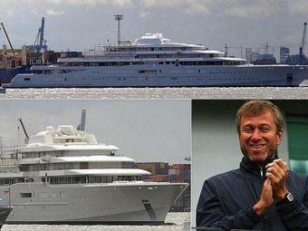 Yacht sau nava de razboi? Americanii au ramas socati cand au au auzit ce dotari are 'barcuta' lui Abramovich: sistem ANTI RACHETA si mini SUBMARIN! SUPER FOTO: