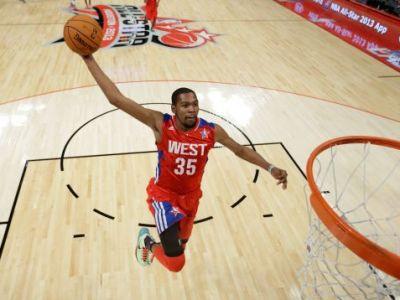 Galeria Zilei: Vest vs. Est in All Star Game! SHOW total: Vestul a castigat dupa un meci nebun, intre cele mai tari vedete din NBA CLICK AICI pentru FOTO: