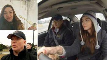 VIDEO Experimentul care i-a SOCAT pe americani! Cum se comporta soferii care consuma marijuana la volan! O femeie surprinde: