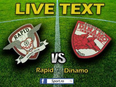 Danciulescu a daramat gradinita din Giulesti: Rapid 0-1 Dinamo! Singura victorie a Rapidului: atmosfera superba din tribune!
