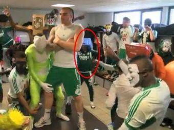 VIDEO DEMENTIAL Banel e 'PARTY ANIMAL' in Franta! Danseaza pe 'Harlem Shake' si isi distreaza maxim colegii! Tanase si Nikolic l-ar vrea inapoi la Steaua :))