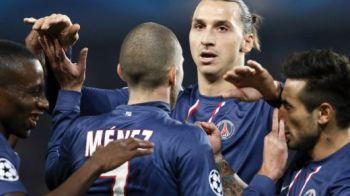 Gest UNIC al lui Zlatan! Reactia fabuloasa cand PSG era condusa! Fanii l-au aplaudat in picioare! Fair-play marca Ibra VIDEO