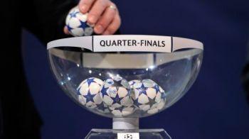 Tragerea la sorti pentru sferturile Ligii Campionilor! Bayern - Juventus este socul sferturilor! Ibra se bate cu Barca, Real da de Drogba si Sneijder! Vezi tragerea: