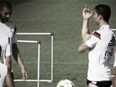VIDEO | Tensiune la antrenamentele lui Real Madrid. Ronaldo i-a aratat degetul mijlociu lui Di Maria. Ce i-a determinat reactia