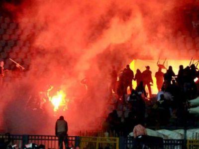 Imnul Romaniei a fost MASACRAT de maghiari! 50 de ultrasi au fost ARESTATI dupa ce au dat FOC meciului cu Romania! Ce s-a intamplat pe strazi