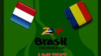 Piti a dat FOLD in drumul catre Rio! Romania, umilita in Olanda, Van Persie a scris un gol FENOMENAL! Olanda 4-0 Romania! Vezi toate fazele: