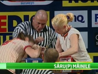 Performanta INUMANA a unui EROU! Vrea sa fie campion la skandenberg desi vine la masa intr-un picior! Omul care merita respect MAXIM