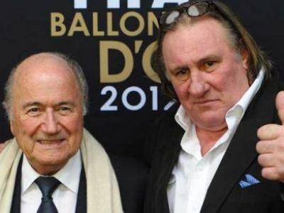Gerard Depardieu se face presedinte la FIFA! ROL ISTORIC jucat de cel mai tare actor din istoria Frantei: